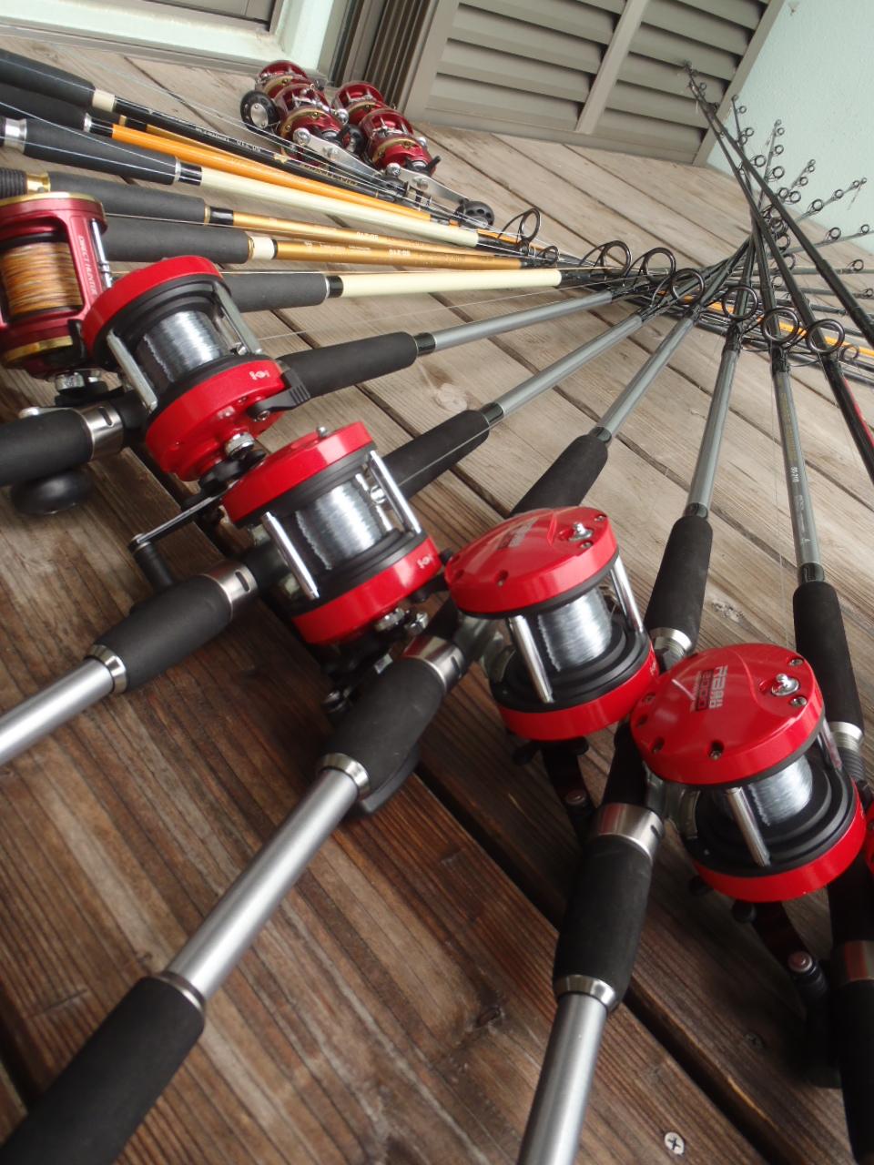 石垣島 釣り竿